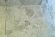 Shower Floors Stone Restoration